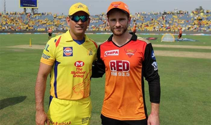 IPL 2019, Indian Premier League, Chennai Super Kings, Sunrisers Hyderabad, MS Dhoni, Kane Williamson, CSK vs SRH