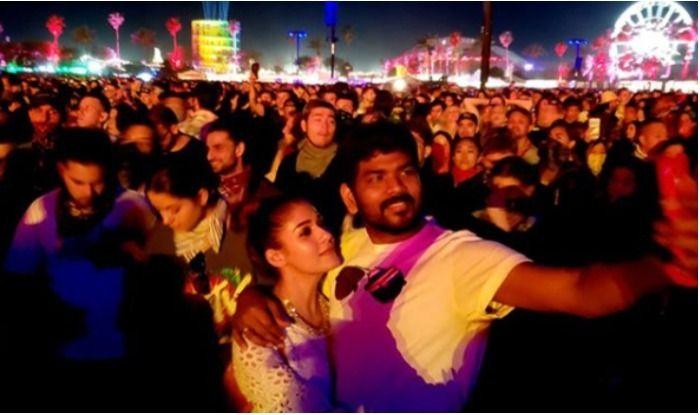 Nayantara, Rumoured Beau Vignesh Shivan Spotted At Caochella Valley Music And Arts Festival In California (View PICS)