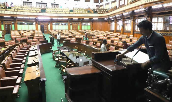 Preparations for floor test underway at Karnataka Assembly