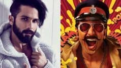 Shahid Kapoor's Arjun Reddy and Ranveer Singh's Simmba:Did You Know The CommonThing Between These Two Upcoming Films?