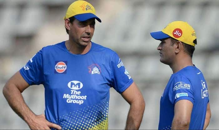 Stephen Fleming, MS Dhoni, IPL 2019, CSK