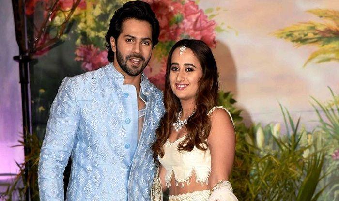 Varun Dhawan And Natasha Dalal Make Their Relationship Official At Sonam Kapoor's Reception?