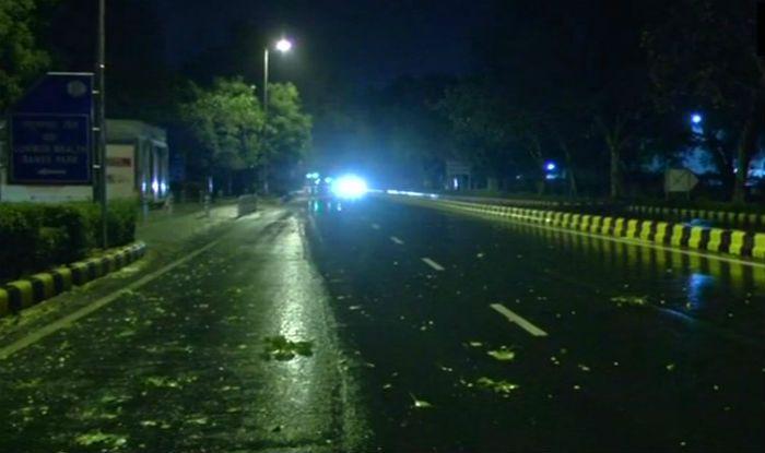 delhi dust storm warning