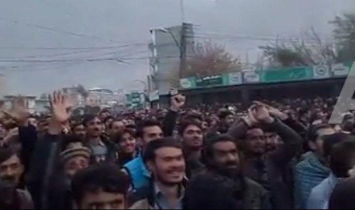 Protest in Gilgit- Baltistan