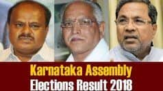 Jamkhandi, Bilgi, Badami, Bagalkot, Hungund Election 2018 Results: Winners of Karnataka Assembly Constituencies
