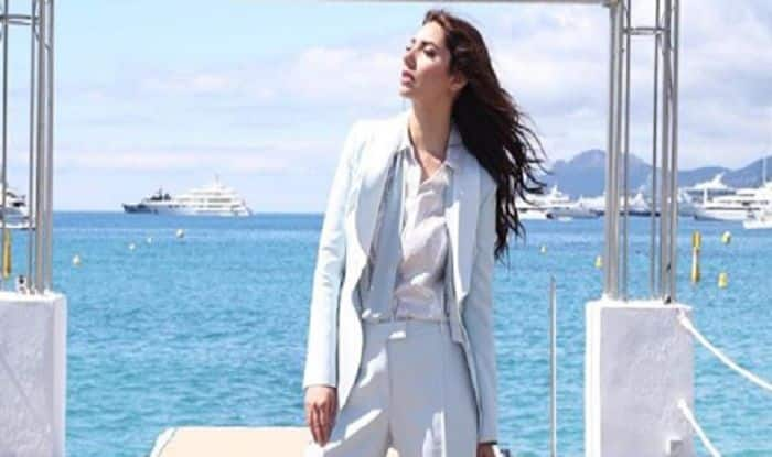 Cannes 2018: Mahira Khan Redefines Power Dressing With Her Latest Outing In A Powder Blue Tux