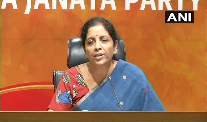 Nirmala Sitharaman Compares P Chidambaram to Nawaz Sharif, Challenges Rahul Gandhi to Probe Him For 'Disproportionate Assets'