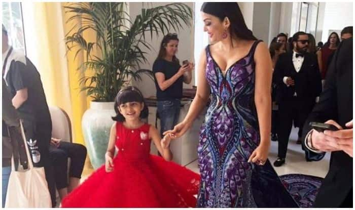 Cannes 2018 : Aishwarya Rai Bachchan And Aradhya Bachchan Make Quite A Stylish Mother-Daughter Duo As They Walk Hand In Hand At The Prestigious Film Festival