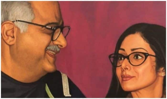 Janhvi Kapoor Shares An Unseen Painting Of Her Parents Boney Kapoor And Sridevi And It Leaves Us Teary Eyed