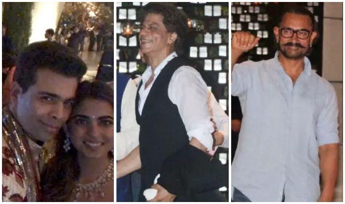 Isha Ambani Engagement Bash : Shah Rukh Khan, Karan Johar, Aamir Khan Make Their Starry Presence Felt