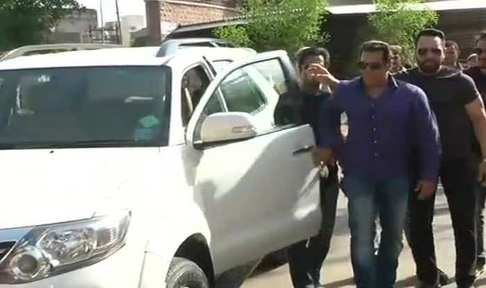 Salman Khan appears before Jodhpur court (ANI)