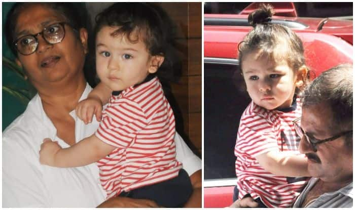 Taimur Ali Khan Looks Super Adorable As He Sports His Ponytail Look – See Pics