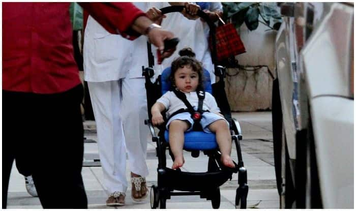 Taimur Ali Khan Spotted Outside His Grandparents Randhir And Babita Kapoor's Residence – See Pics