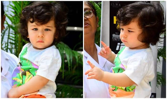 Taimur Ali Khan Looks Extremely Adorable On His Day Out With Nanny – See Pics