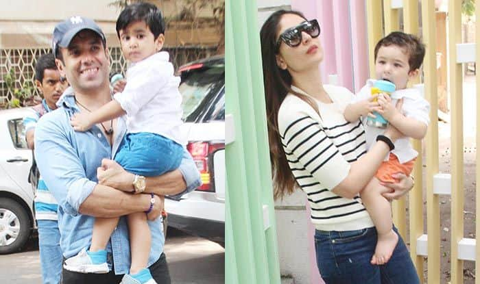 Taimur Ali Khan Gets a Surprise as Mommy Kareena Kapoor Khan Picks him up From School – See Pics