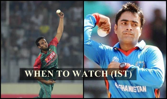 Afghanistan vs Bangladesh 2nd T20I Live Streaming: When And