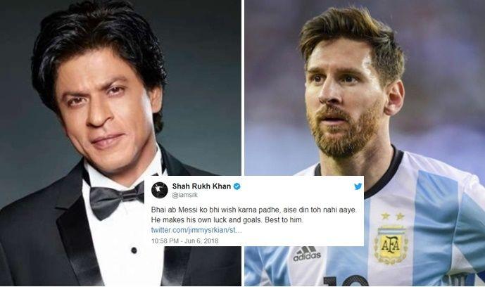 Lionel Messi SRK