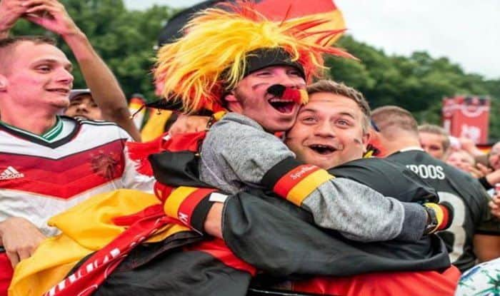 German Team Fans Excited After Crucial Win Over Sweden