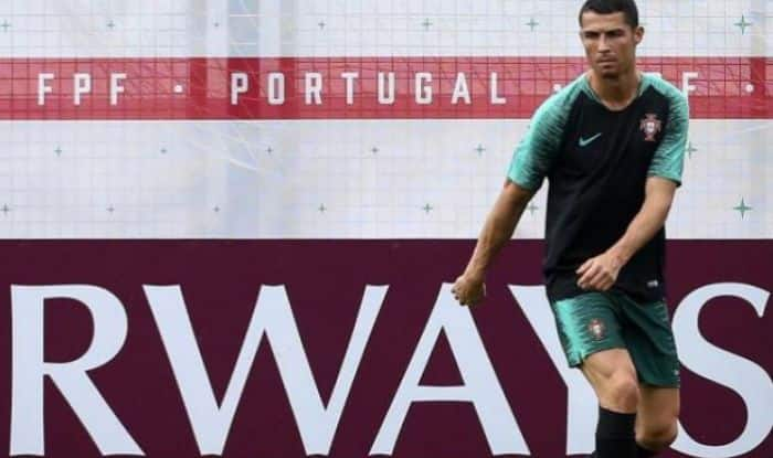 FIFA World Cup 2018: Cristiano Ronaldo Joins Portugal Training Session Ahead of Clash Against Morocco — IN PICS