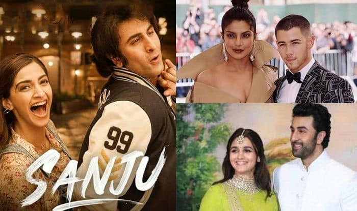 Ranbir Kapoor Confirms Dating Alia Bhatt, Priyanka Chopra And Nick Jonas Together, Sanju Trailer Out, Janhvi Kapoor Debut Cover – Bollywood Week In Review