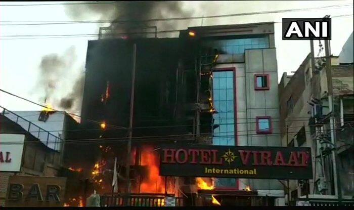 Lucknow: Massive Fire Breaks Out at Hotel in Charbagh, 5 Killed; Rescue Operation Underway