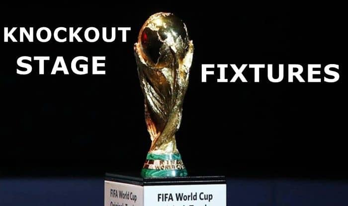 Fifa world cup knockout stage fixtures
