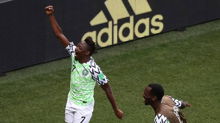 Football world cup nigeria vs iceland