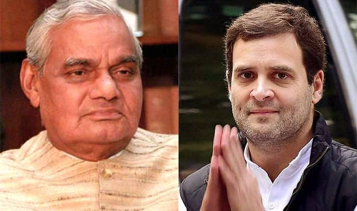 Rahul Gandhi to Congress Workers: Went to Meet Ailing Former PM Atal Bihari Vajpayee on Priority, This is Our Culture