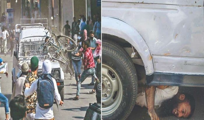 Jammu And Kashmir: CRPF Vehicle Runs Over 3 Youth After Attack By Protesters, Clashes Emerge