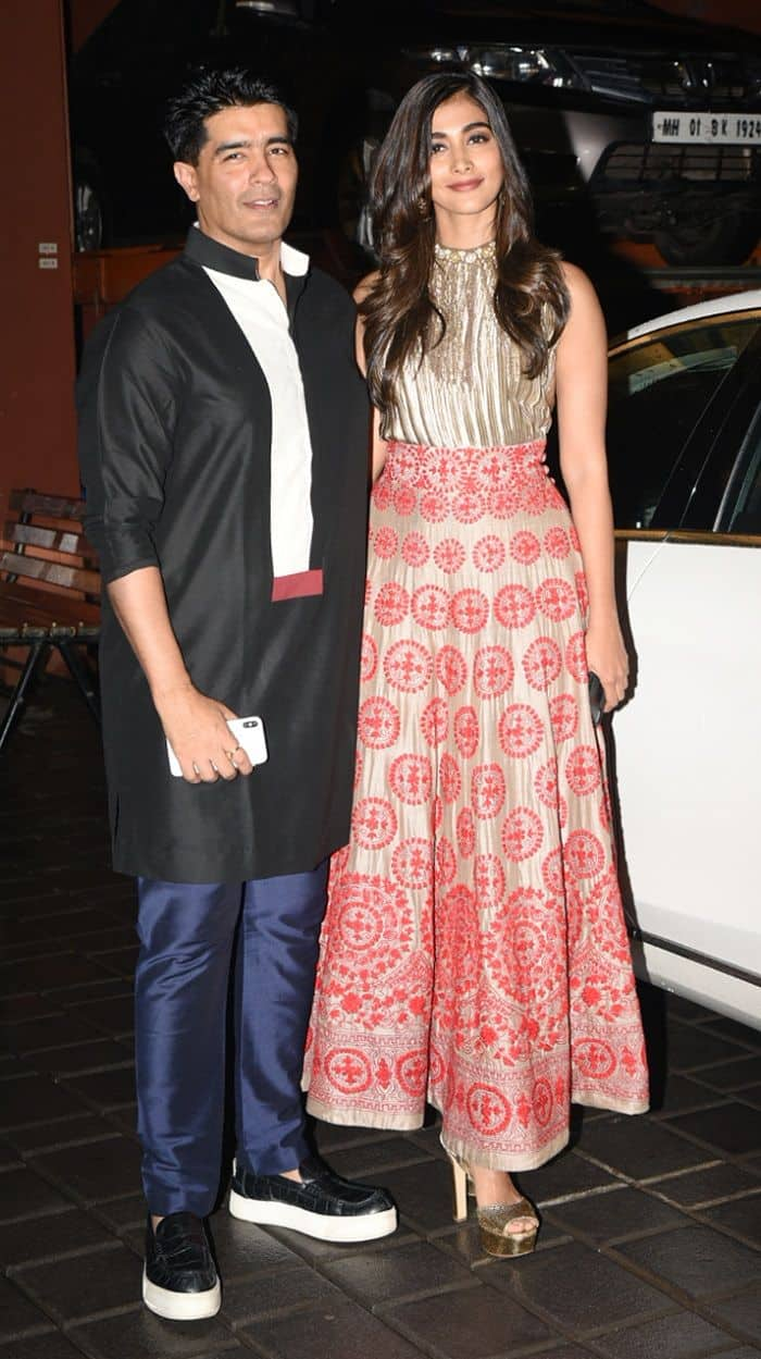 Manish Malhotra and Sonal Chauhan