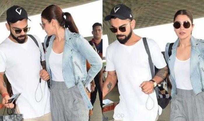 Virat Kohli and Anushka Sharma Give Us Couple Goals in White T-shirts and Sneakers