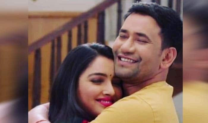 Bhojpuri Hotness Amrapali Dubey Shares The Most Adorable Picture Featuring Dinesh Lal Yadav
