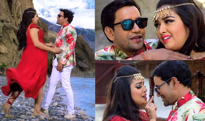 Bhojpuri Hot Rumoured Couple Amrapali Dubey And Dinesh Lal Yadav's Song 'Chehra Tohar' Becomes a Rage on The Internet, Clocks Over 1.7 Million Views on YouTube