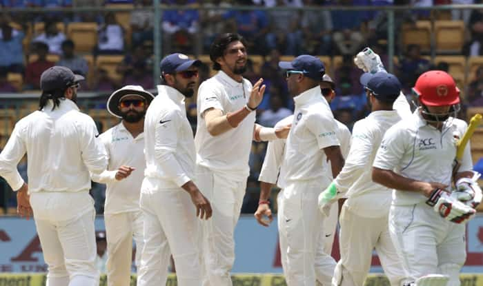 India Thrashes Afghanistan