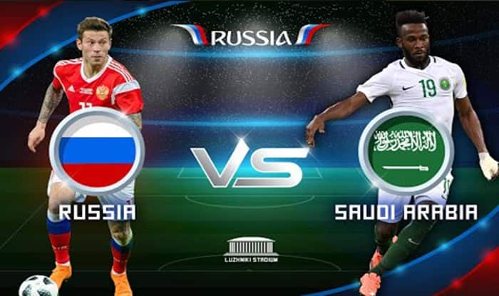 Russia vs Saudi Arabia: highlights