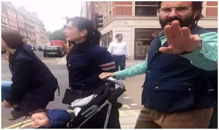 Saif Ali Khan Angry With A Passerby In London For Hounding His Son, Taimur Ali Khan?