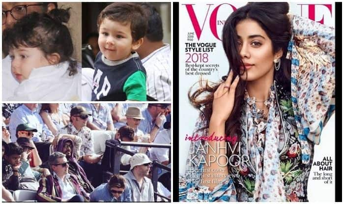 Viral Pics Of The Week : Taimur Ali Khan's Haircut, Irrfan Khan At Lords Stadium, Janhvi Kapoor On The Cover Of Vogue India – In This Week's Edition