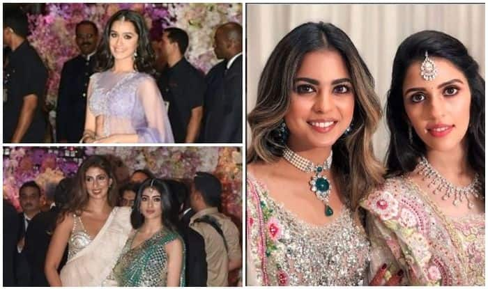 Akash Ambani and Shloka Mehta Engagement Bash: Shweta Bachchan, Navya Naveli,  Disha Patani and Tiger Shroff Celebrate