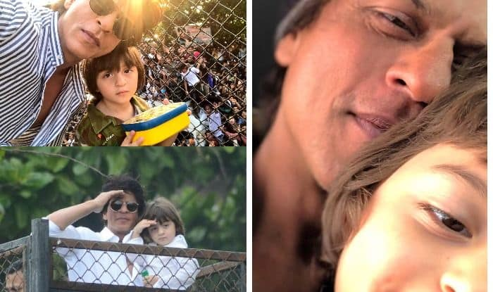 Shah Rukh Khan Shares Adorable Picture With Son AbRam, Greets Followers on Eid-Ul-Fitr – Read Tweet