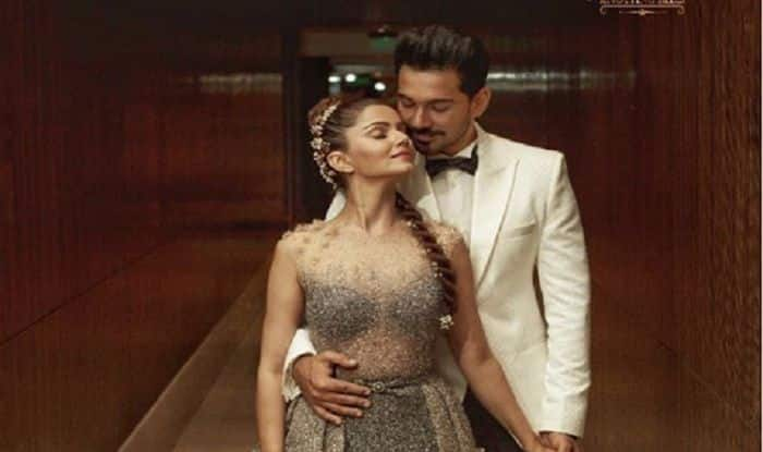 Rubina Dilaik – Abhinav Shukla Mumbai Reception: The Couple Looks Dreamy at The Bash