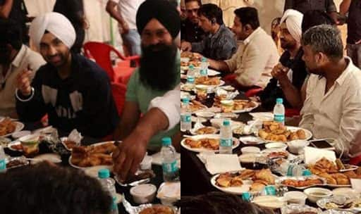 Diljit Dosanjh Joins Soorma's Iftaar Party During Ramzan – See Pic