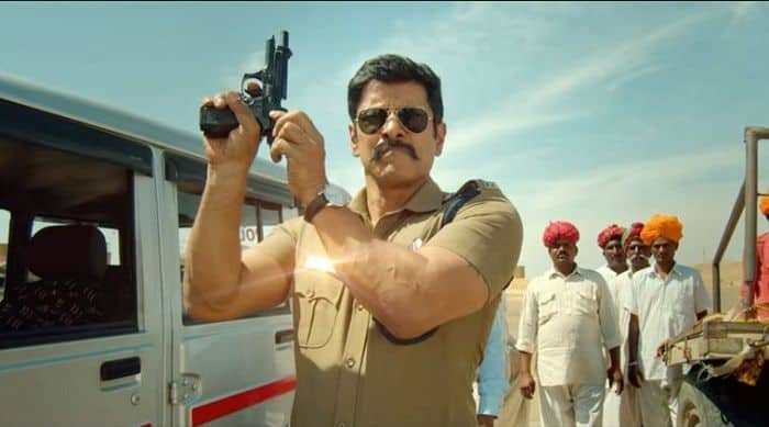 Saamy Square Trailer : Chiyaan Vikram As The Angry Cop Will Leave You Curious For The Film That's High On Action Sequences