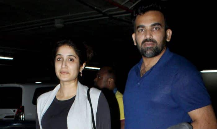 PICS: Zaheer Khan And Sagarika Ghatge Head Back to Mumbai after Holidaying in Australia