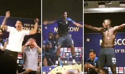 Euphoria Turns Wild! How French Football TeamDisrupted Deschamps' PC -- WATCH