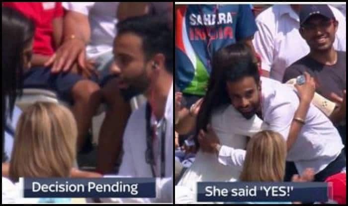 India vs England 2nd ODI Lords: A Fan Proposes During LIVE