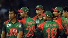 Bangladesh Tour of India in Doubt After Top Players Threaten Strike