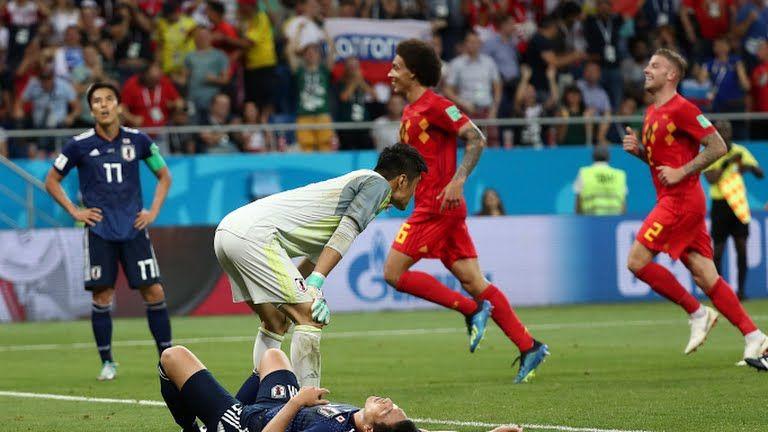 Belgium win