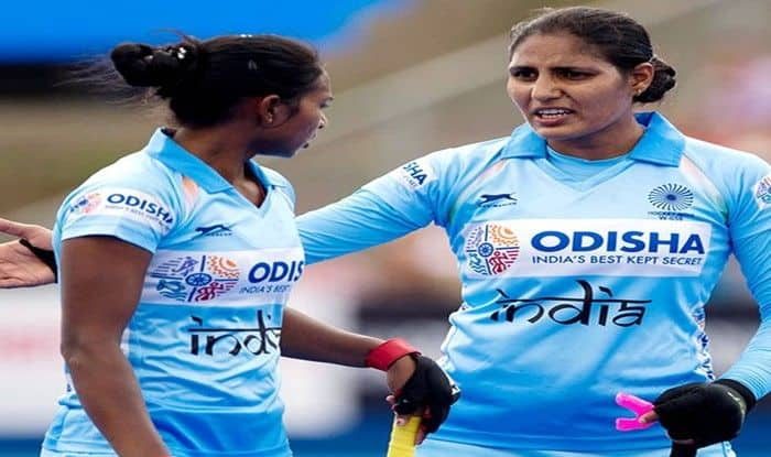 India women's hockey team in action during World Cup 2018_HI Twitter