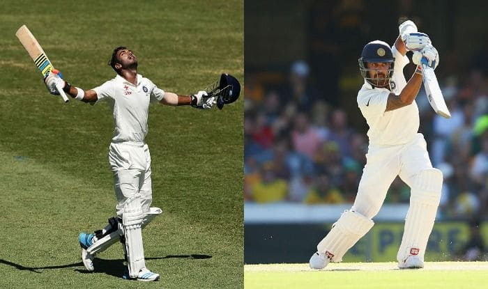 KL Rahul and Murali Vijay in action_Getty