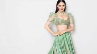 Lust Stories Actress Kiara Advani Raises Hotness Quotient as India Couture Week Showstopper in Gorgeous Green Lehenga- Check Pictures